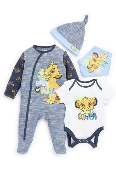Conjunto Rei Leão menino bebé