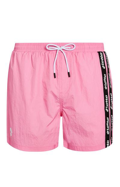 Pink Lotto Swim Shorts