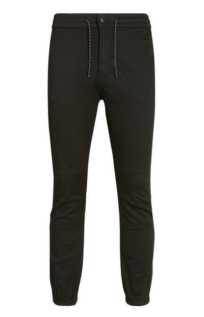 Pantaloni kaki con fondo stretto
