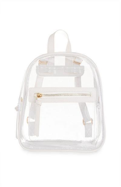 White Transparent Backpack