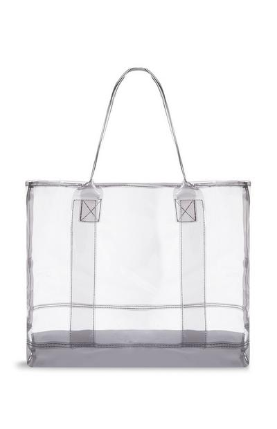 Borsa shopper in Perspex