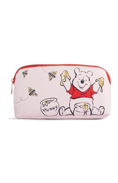 Winnie The Pooh Pink Pencil Case