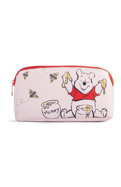 Winnie The Pooh Pink Pencil Case