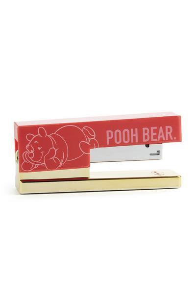 Red Winnie The Pooh Stapler