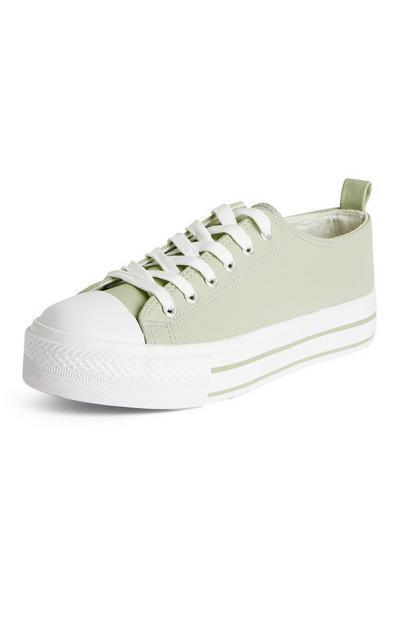 Klassische Flatform-Sneaker