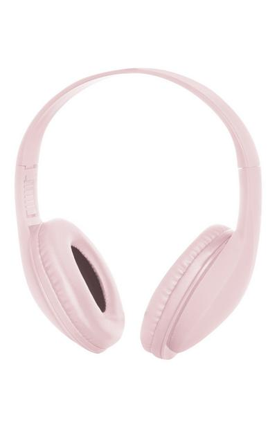 Light Pink Wireless Headphones