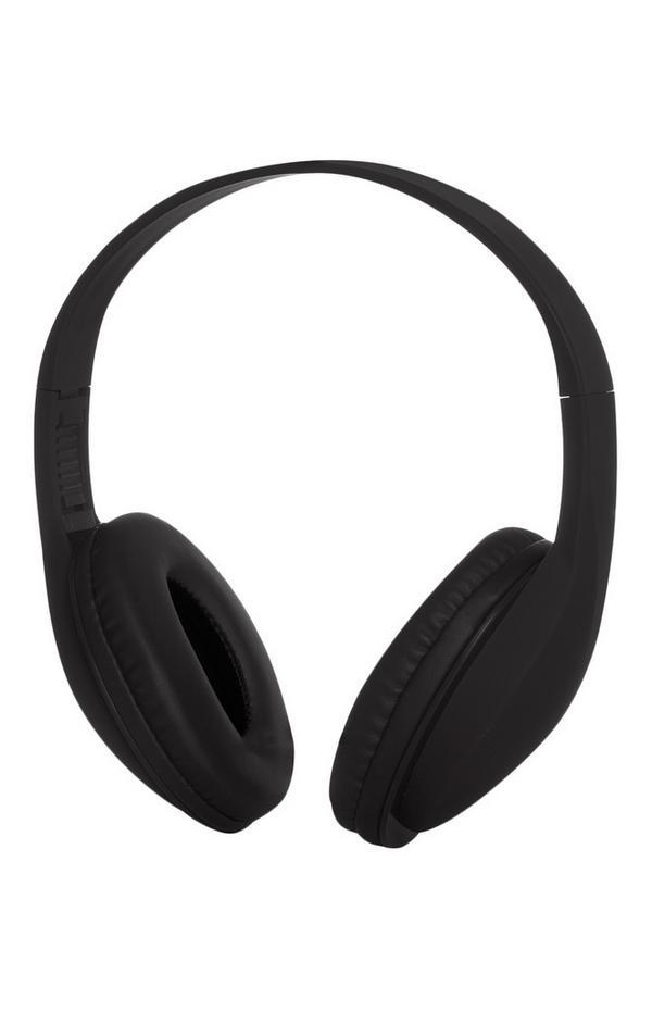 Kabellose Kopfhörer in Schwarz