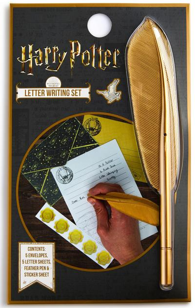 Conj. canetas casa Harry Potter