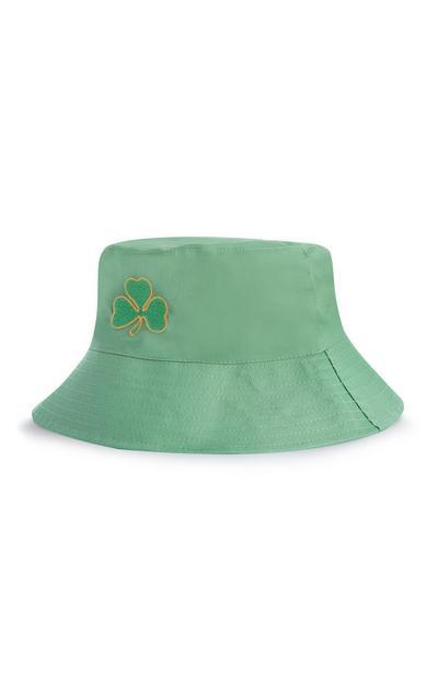 Green St. Patrick's Day Shamrock Bucket Hat