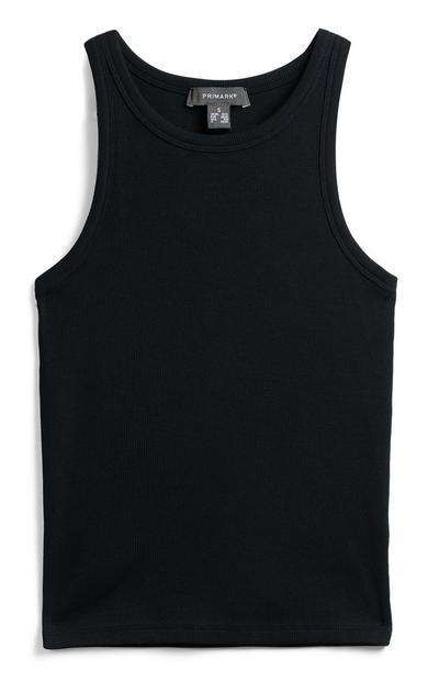 Zwart hemdje met racerback
