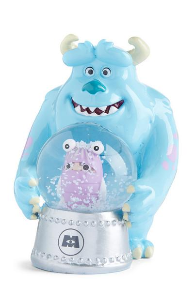 Blauwe sneeuwbol Monsters Inc Sulley