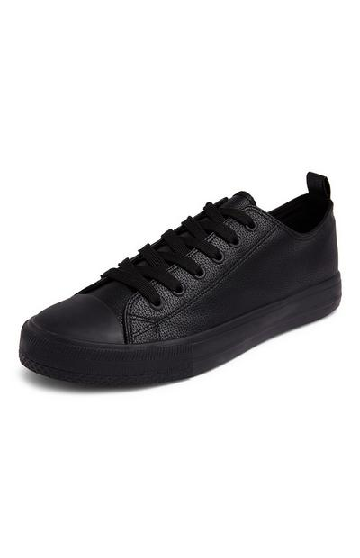 Black Classic Low Top Trainers