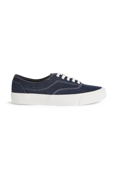 Basic denim sneaker
