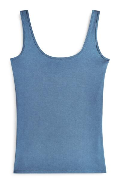 Blue Stretch Tank