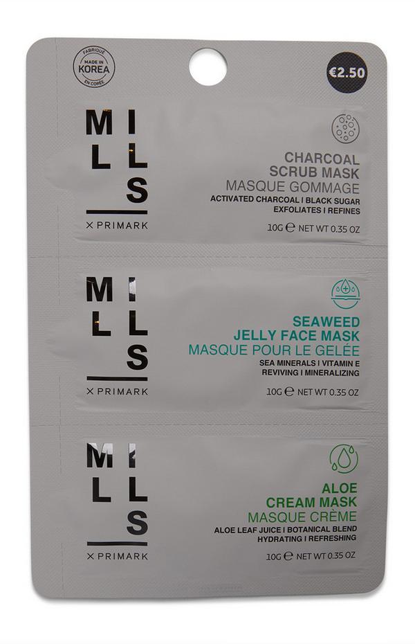 Máscaras 3 passos Joe Mills