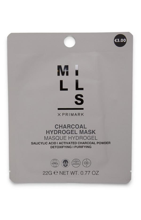 Máscara tecido hidrogel carvão Joe Mills