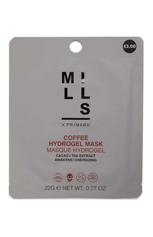 Máscara tecido hidrogel café Joe Mills