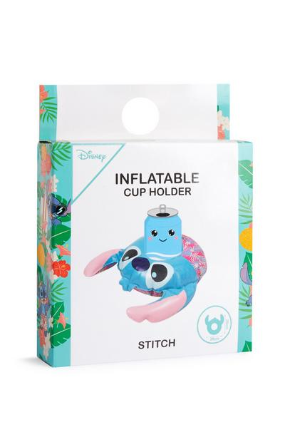 Portavasos hinchable de Stitch