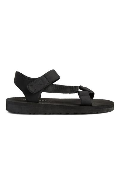 Black Sports Sandals