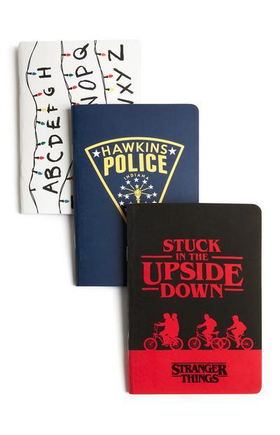 3-Pack Stranger Things Notebooks