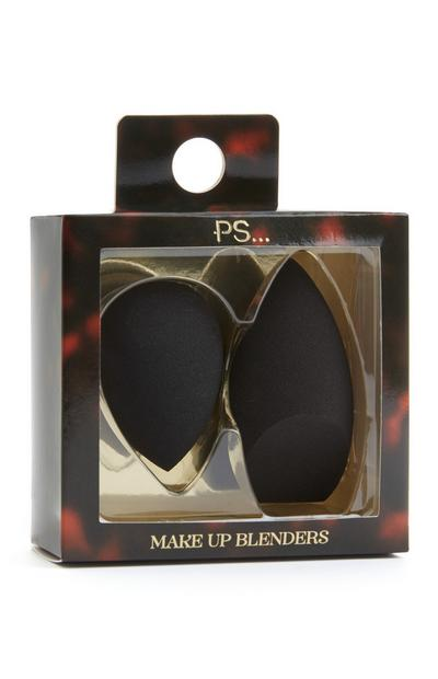 2-Pack Black Makeup Blenders