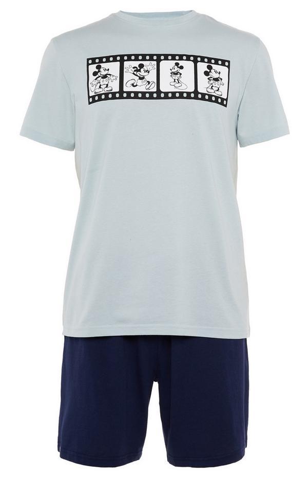Pyjama bleu avec short Primark Cares Disney Mickey