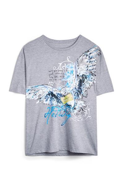 Grijs T-shirt Hedwig