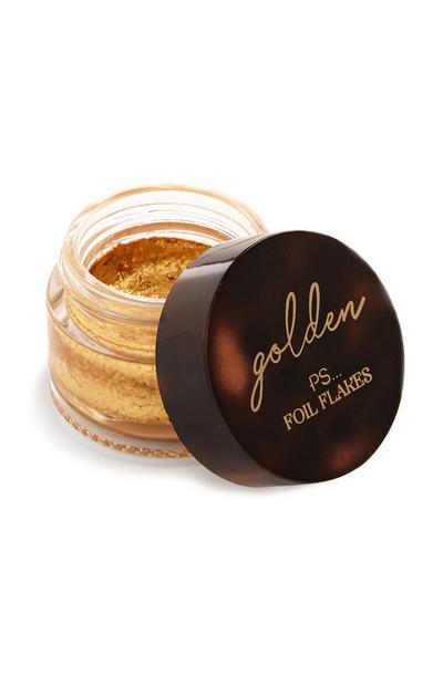 Golden Face And Body Foil Flakes