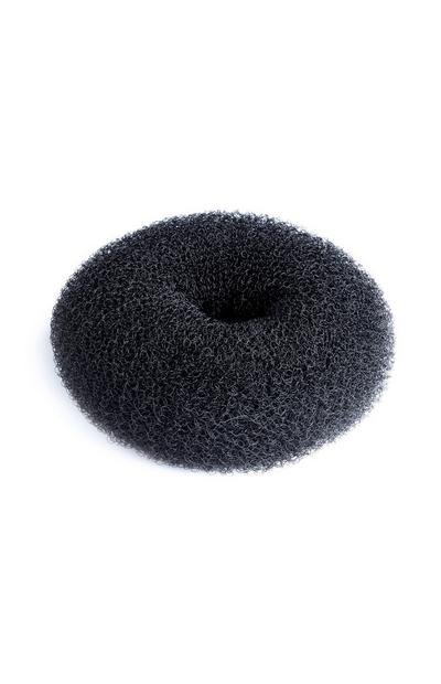 Black Large Hair Donut
