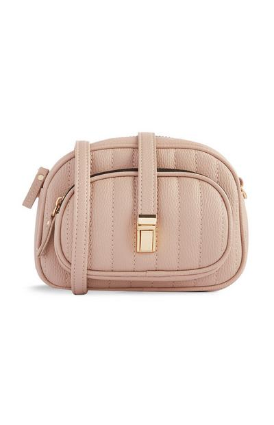 Beige Quilted Multiway Bag
