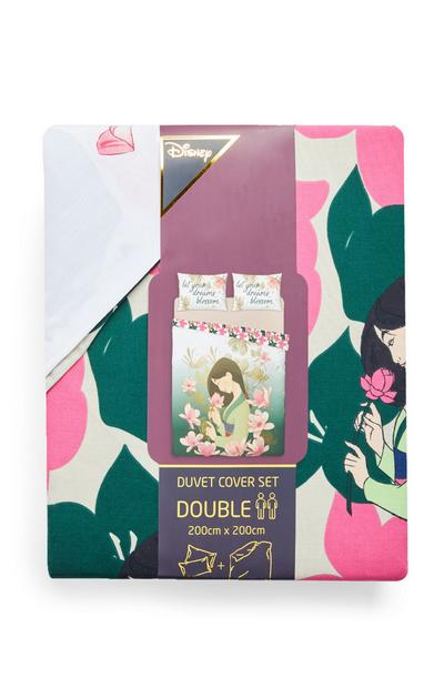 Mulan Double Duvet Cover Set