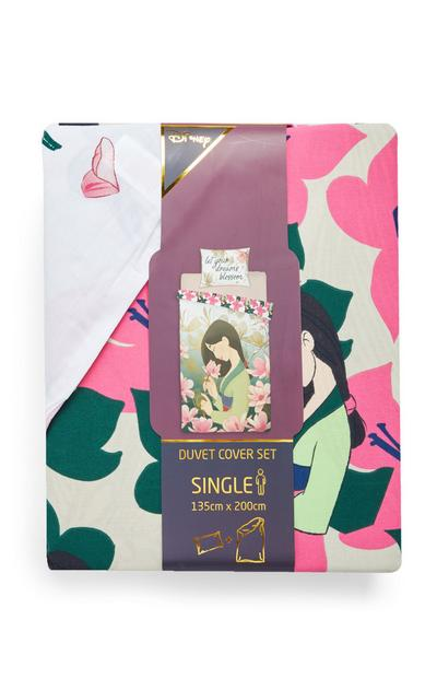 Mulan Single Duvet Cover Set