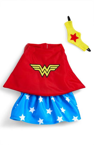 Costume Wonderwoman pour animal