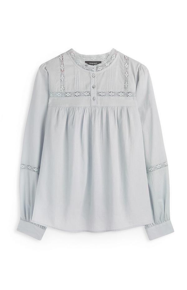 Grey Prairie Button Up Shirt