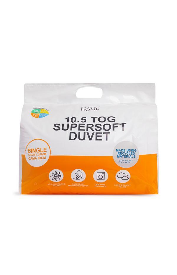 10.5 Tog Super soft Single Duvet