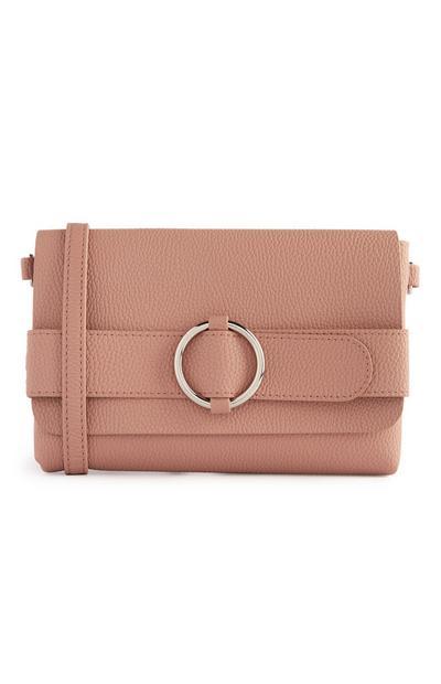 Pink Multi Use Buckle Bag