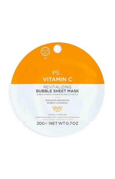 Vitamin C Bubble Sheet Mask