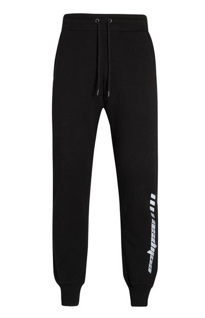 Black Eclipse Reflective Joggers