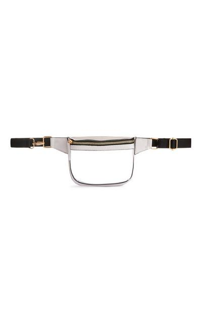 White Clear Belt Bag
