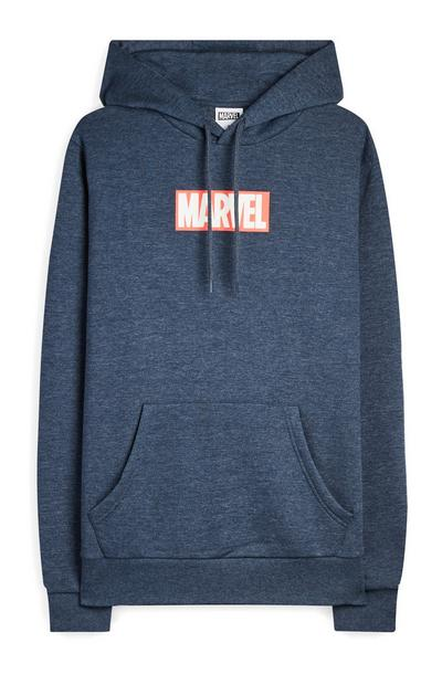 Sweat à capuche Marvel bleu marine