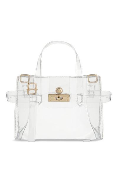 Mini sac à main transparent