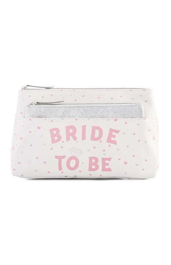 Potovalna torbica Bride To Be 2 v 1