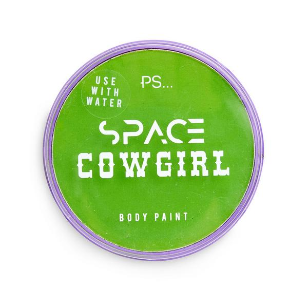 """PS Space Cowgirl"" Grüne Körperfarbe"