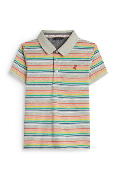 Stacey Solomon Younger Boy Stripe Polo Shirt