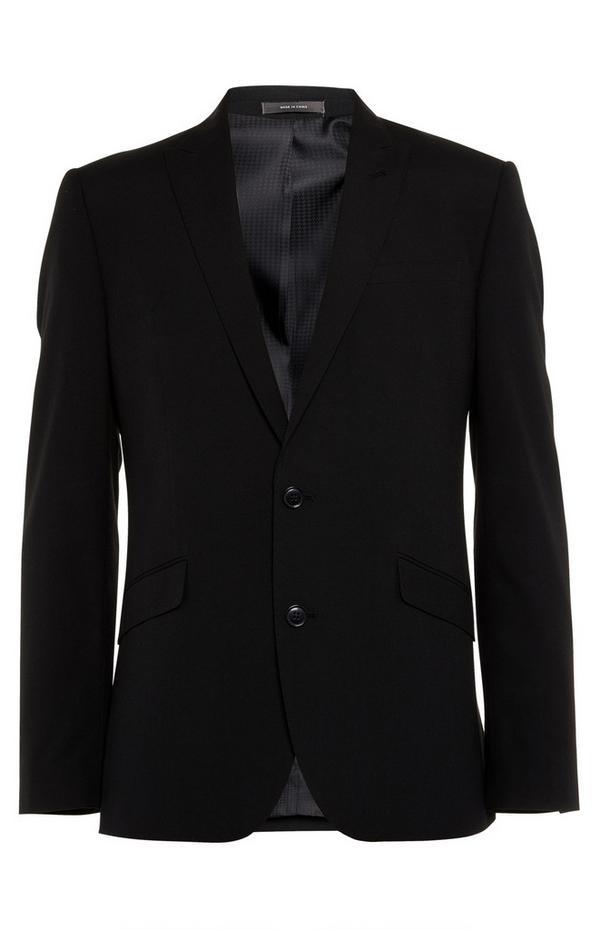 Schwarzes Jackett mit Knöpfen