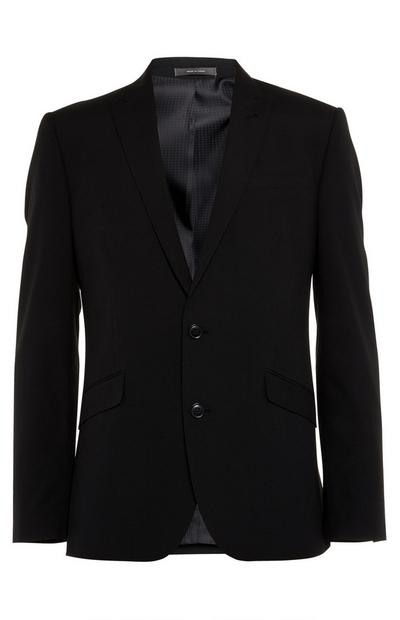 Black Buttoned Jacket