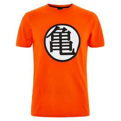T-shirt Dragon Ball Z laranja