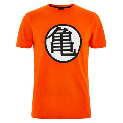 Camiseta naranja de Dragon Ball Z