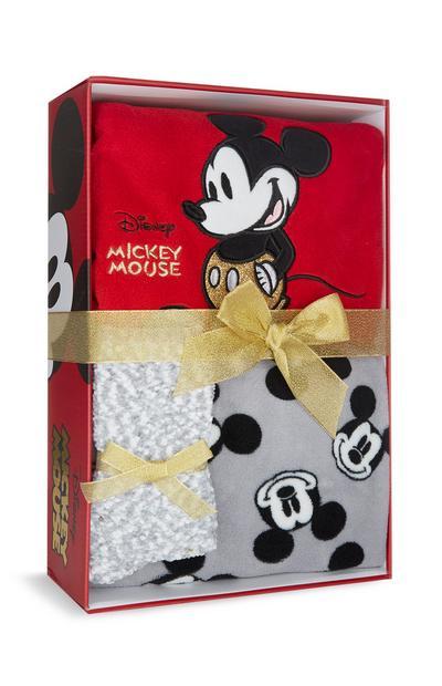 Caja regalo con pijama de Mickey Mouse rojo