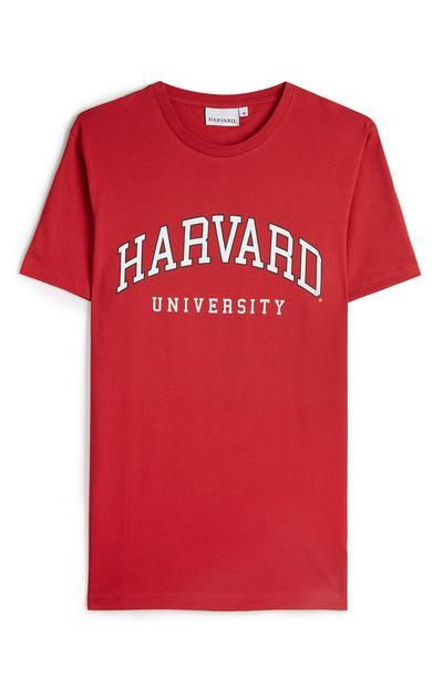 Red Harvard University T-Shirt